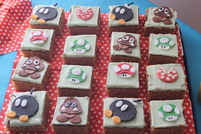 Super Mario leivokset synttäreille