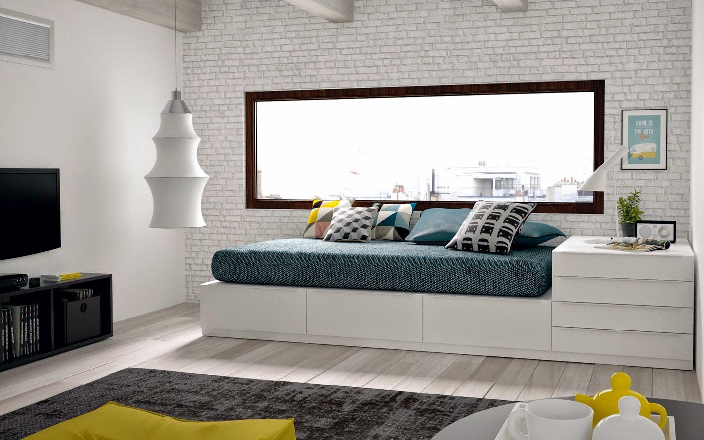 Novedades en dormitorios juveniles for Camas juveniles modernas