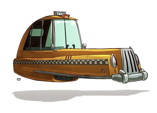 Ze Future - ilustração de Ido Yehimovitz
