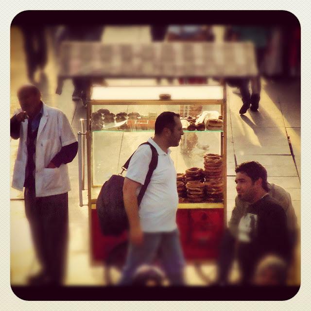Street Cart for Baked Goods Istanbul