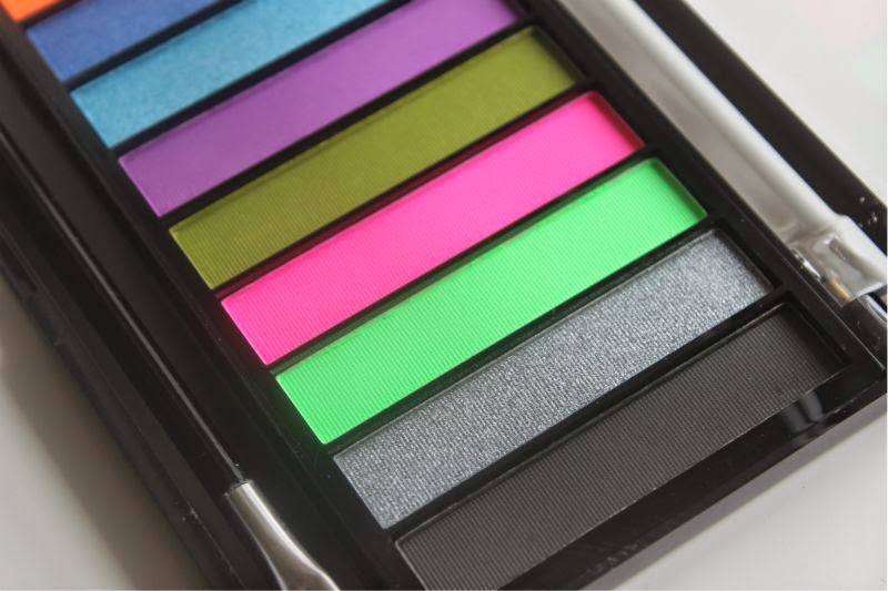Revolution Redemption Palette in Acid Brights