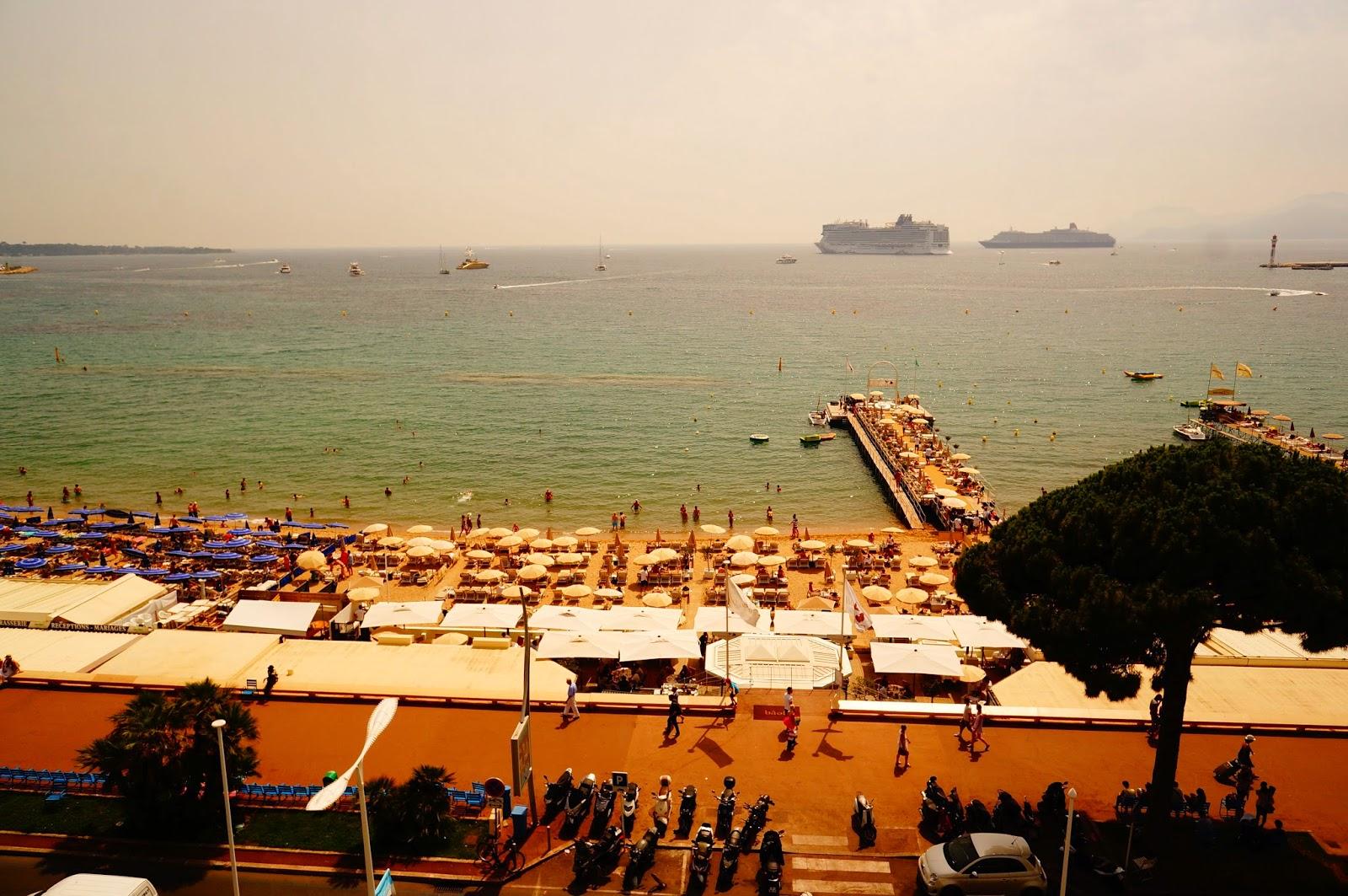 Пляж-Marriott-Cannes