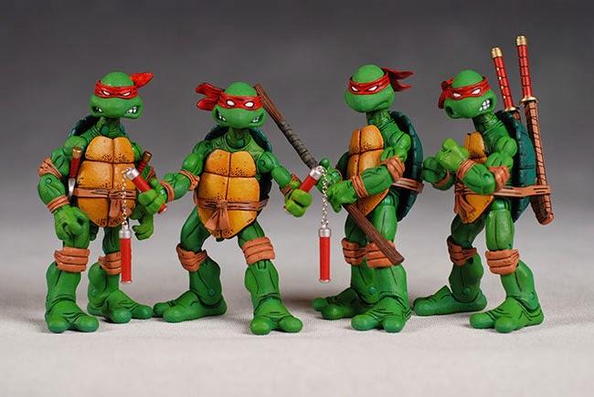Tartarugas Ninja Action Figures NECA