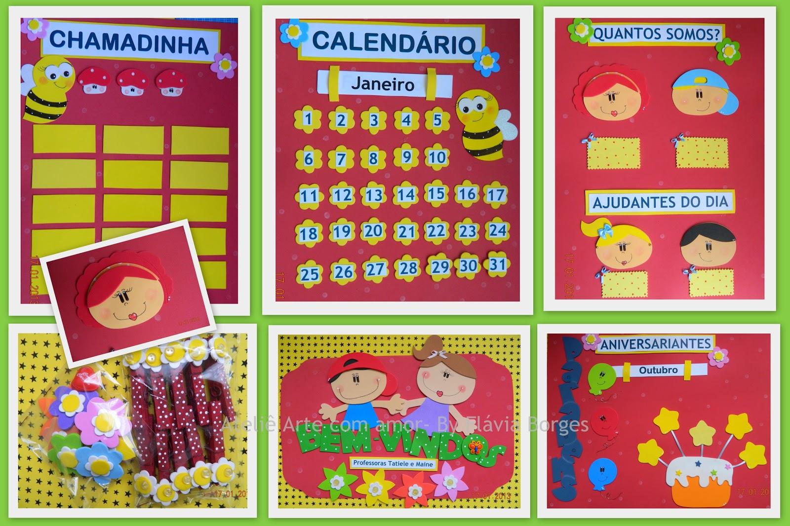 Kit decoração para Sala de aula - Diversos temas