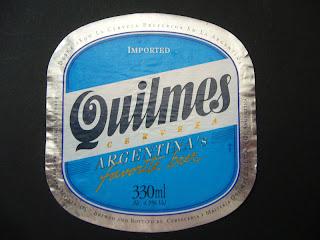 argentinean beer quilmes
