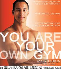 You are your own gym , ebook, FITNESS EBOOK, health books, bodyweight exercise books, mark lauren books