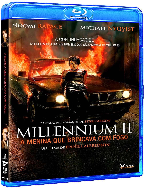 Millennium II – A Menina que Brincava com Fogo (2012) BluRay 1080p Dual Áudio