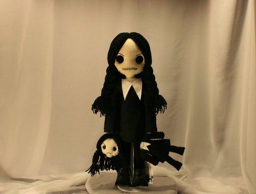 Wednesday Addams 1079 por Zosomoto