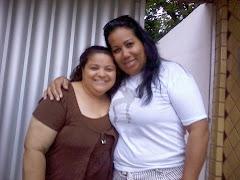 Cantora Cassia e Vânia Guedes
