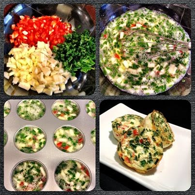 Easy Egg White Muffins, Batch Cook, Easy cooking, eat clean, quick meals