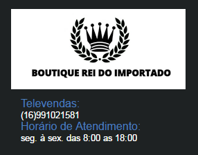 Boutique Rei do Importado