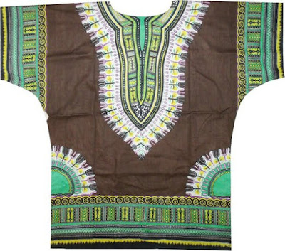 Dashiki - 25 Christmas Gifts Under $25 for Hippie Bohemian Men {Gift Guide for Hippies/Bohemians}