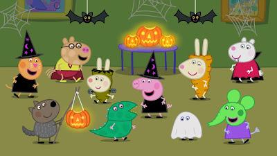 Episódio inédito de Peppa abre o Especial  de Halloween do Discovery Kids - Divulgação