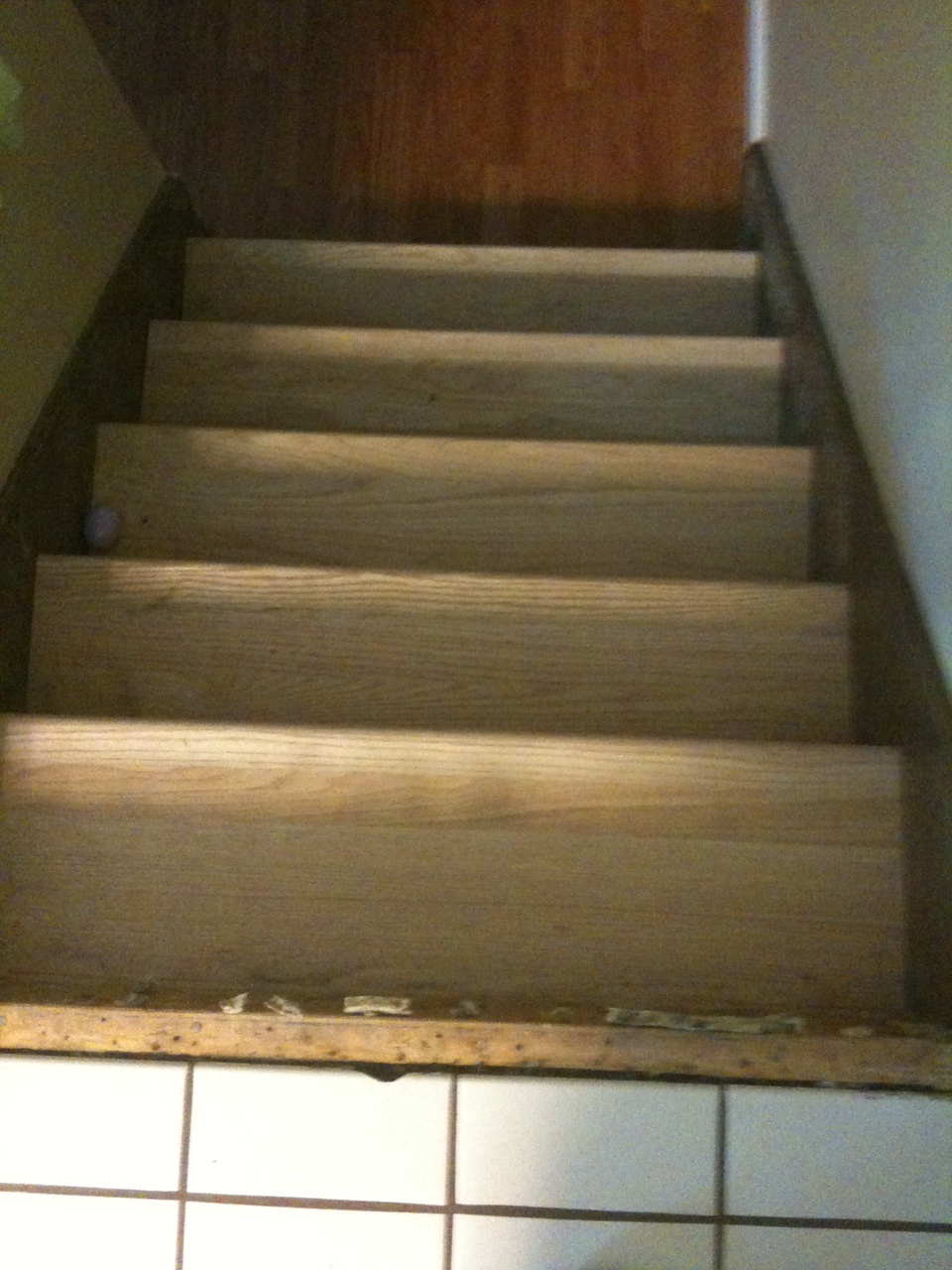 basement stairs rebuild