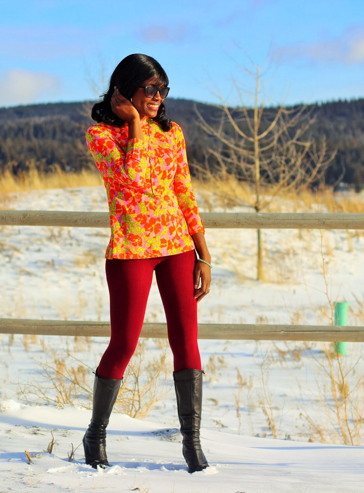 perfect burgundy leggings
