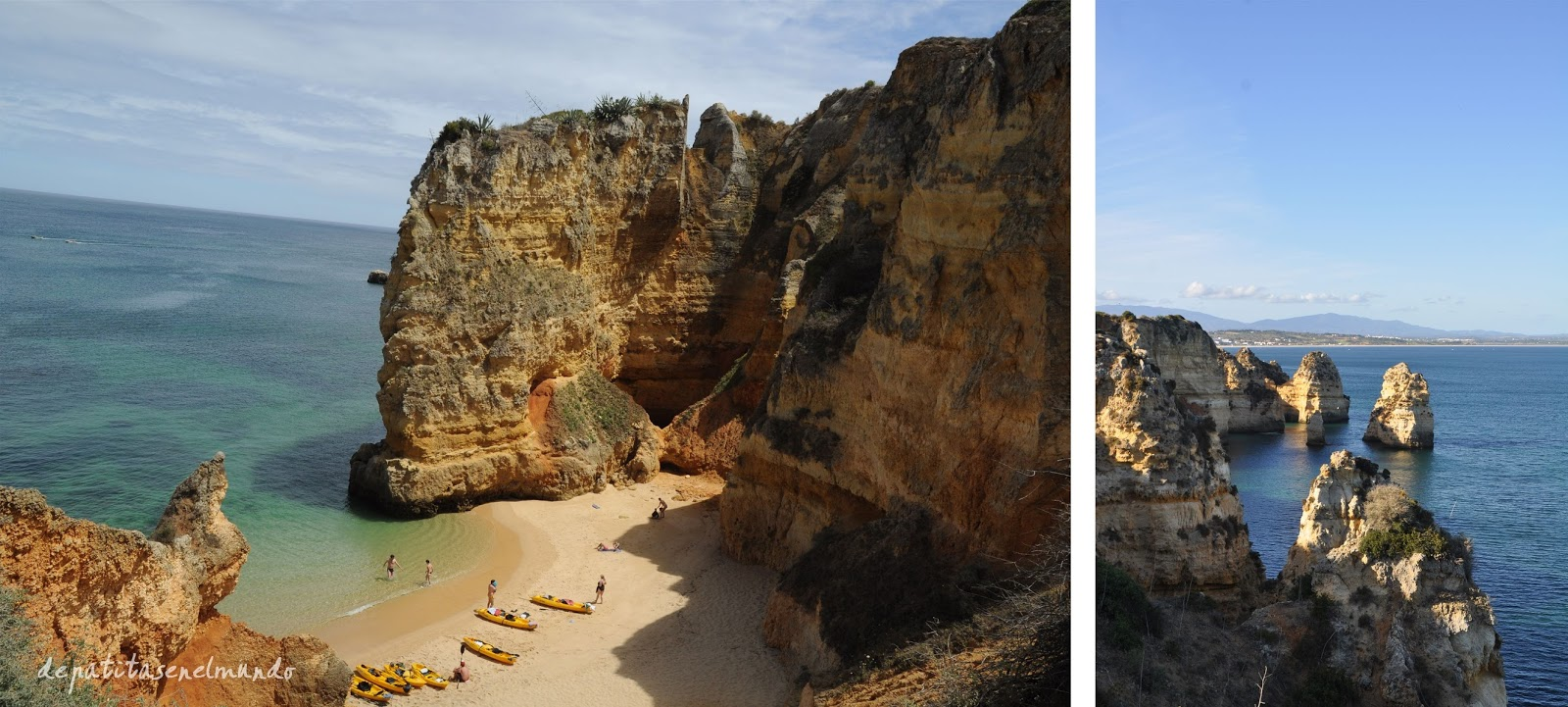 Playas de Lagos en El Algarve