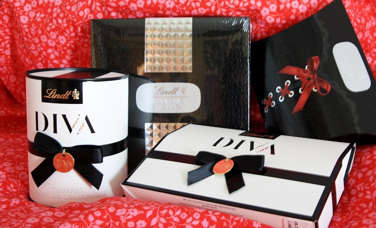 Lindt - Diva und Rock Chic Produkte