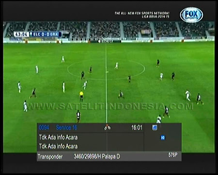 biss key fox sports palapa d