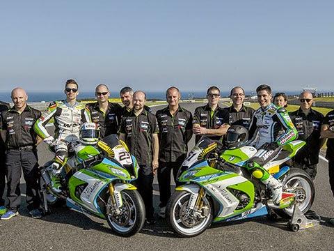 Superbike 2015 team Grillini