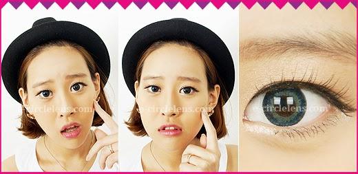 Blue Color Contacts, Blue-colored Contacts, Blue Color Lenses