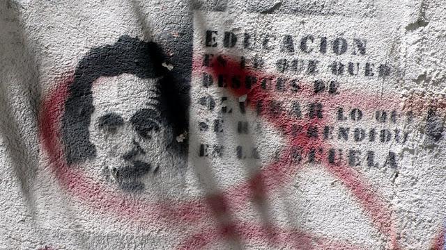 street art in santiago de chile stencil arte callejero  educación