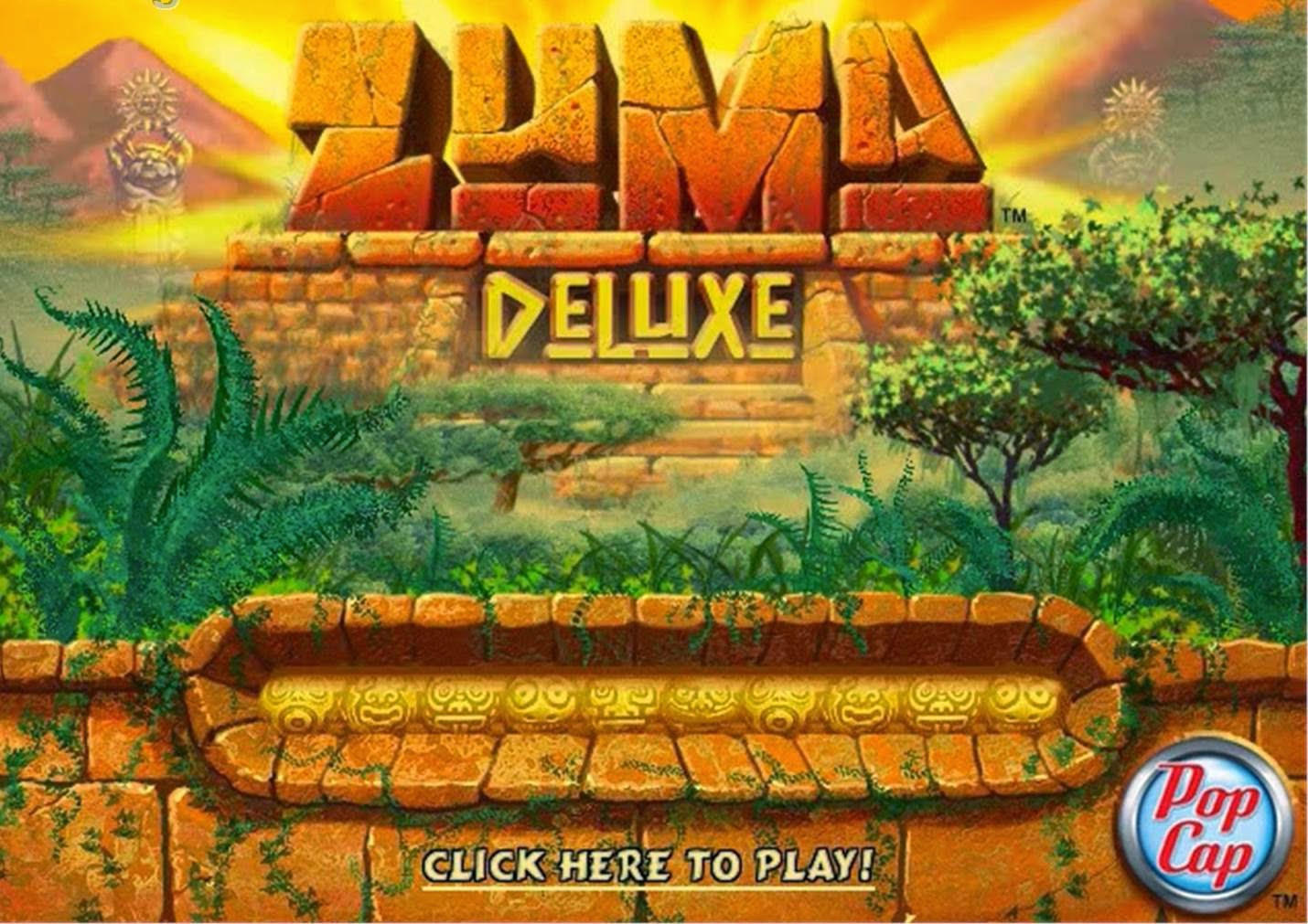 play zuma online full screen