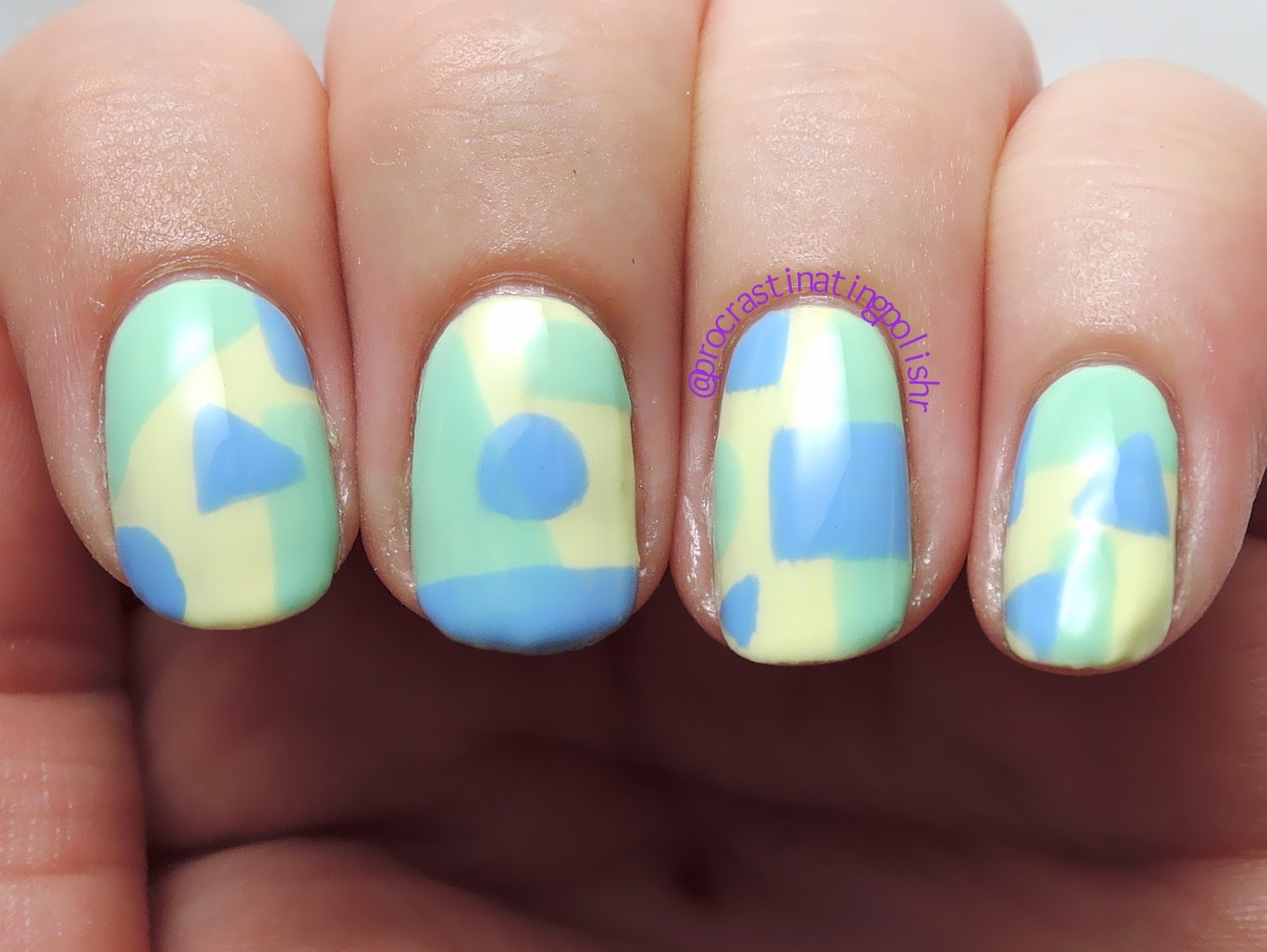 Geometric Nail Art | Grace-full Brooke & Anne