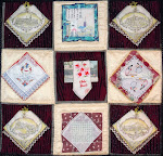 """TRAVEL DOCUMENTS QUILT – BEST MEMORIES"""