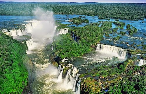 Cataratas do Iguaçú – Brasil e Argentina