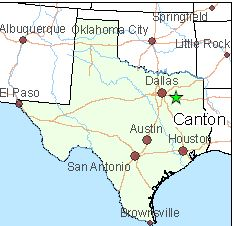 GRVACATION You CAN Find It In Canton Texas - Where is texas