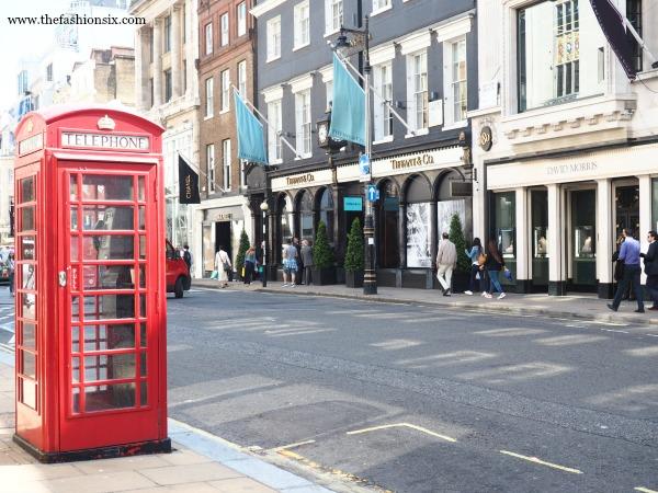 A photo of Bond Street London