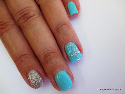 Nail art: Colazione da Tiffany