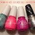 NEW China Glaze Gelaze UV/LED polishes!  Swatches + Review
