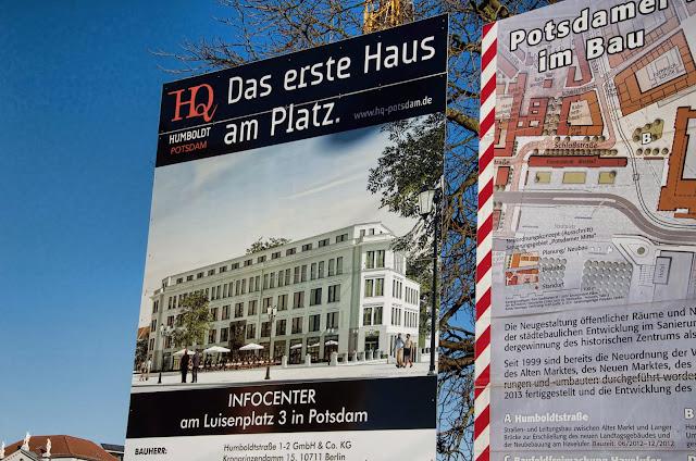 Baustelle Potsdam, Mitte im Bau, Am Alten Markt 1, 14467 Potsdam, 11.01.2014