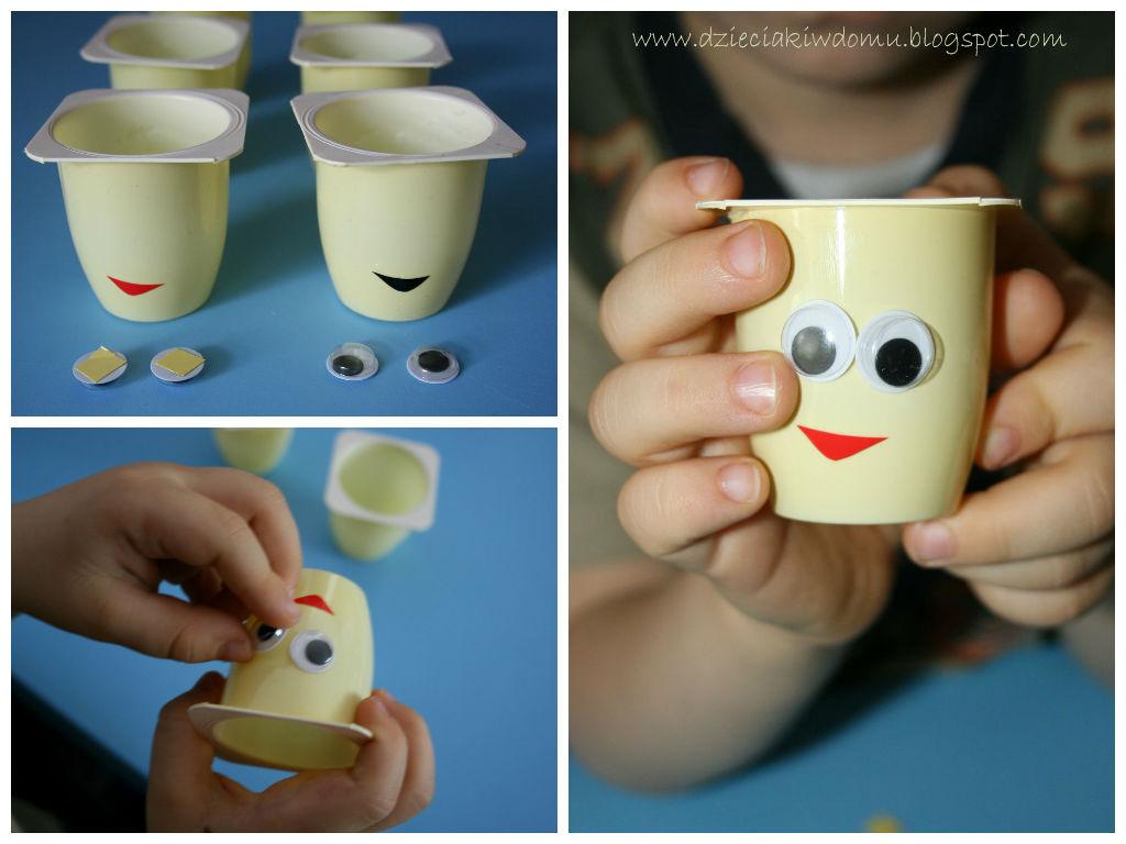 Edukacyjna zabawa dla dzieci - zadzenie roślin, owies