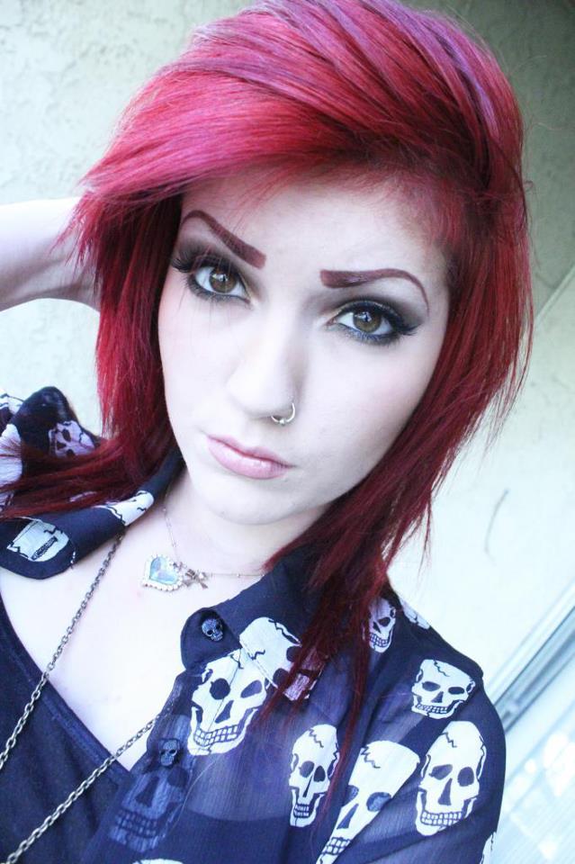Emo Hair Styles For Girls