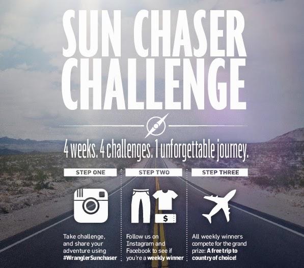 wrangler instagram promo wrangler sun chaser