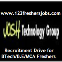 Josh Technology Group Freshers Drive 2015