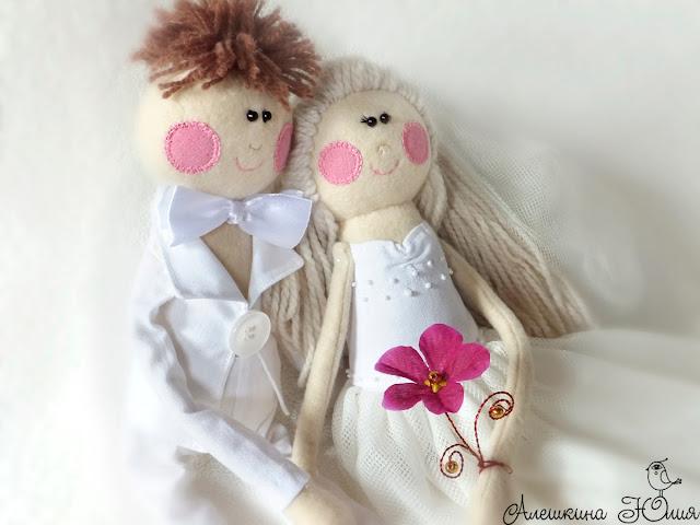 Авторские куклы - подарок на свадьбу
