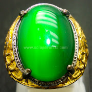 Cincin Batu Green Melon Calchedony - SP766
