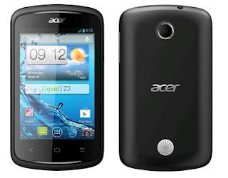 Spesifikasi dan Harga Acer Liquid Z120 Juli 2013