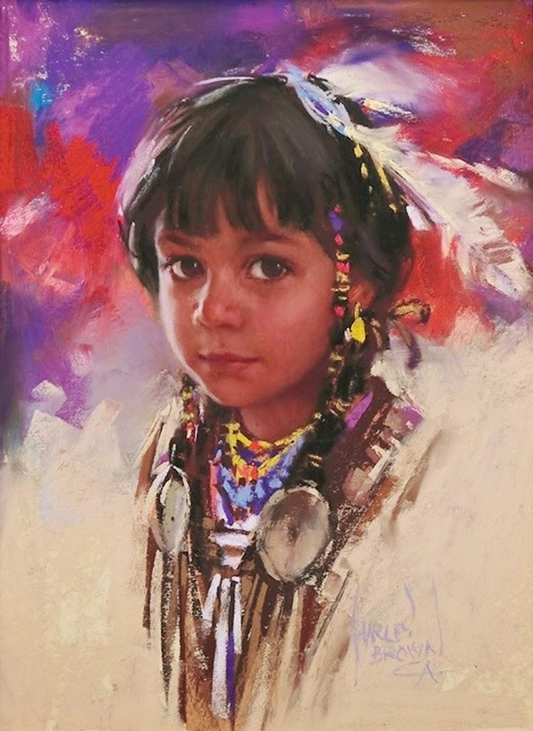 pinturas-de-indios-al-oleo