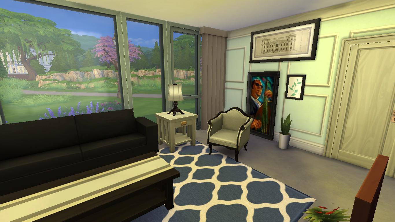 Sims 3 interior design inspirations the sims 4 living room for Sim interior designs