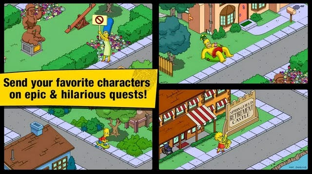 The Simpsons Tapped Out full apk
