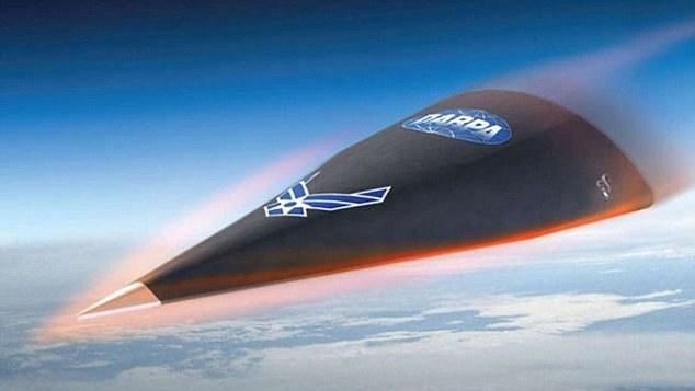 Falcon HTV-2 - Pesawat hypersonic 20 kali kelajuan bunyi