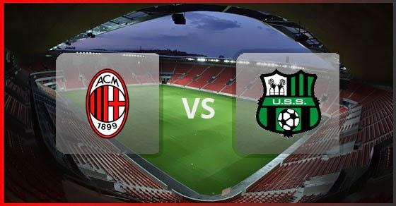 Hasil gambar untuk Milan vs Sassuolo