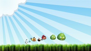 Angry Birds Wallpaper PowerPoint Background-9
