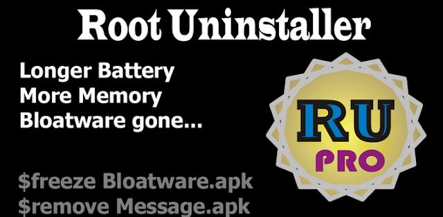 Root Uninstaller Pro v8.2 Apk Miki