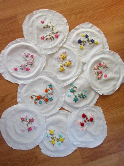 how to stop cotton ribbon from fraying
