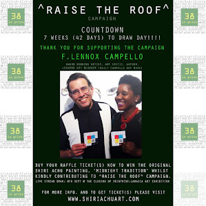 'RAISING THE ROOF CAMPAIGN' ART EXHIBITION : Aug 25- Sep 5 in JAMAICA